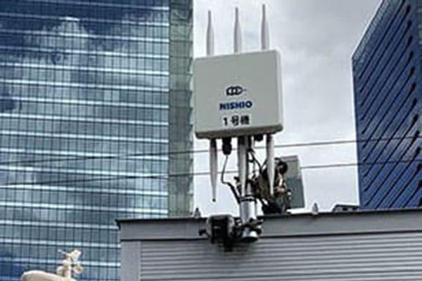 「新しい働き方」を想定した屋外オフィスでの就業にWi-Fiネットワーク構築で貢献